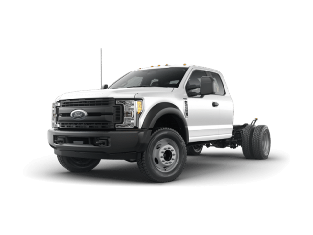 2019 Ford F-550 Chassis F550 4X2 S/C CC Commercial-truck